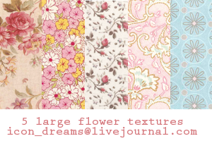 Large flower textures