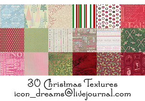 Christmas textures by icon-dreams