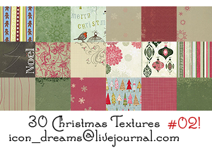 Christmas textures part 02 by icon-dreams