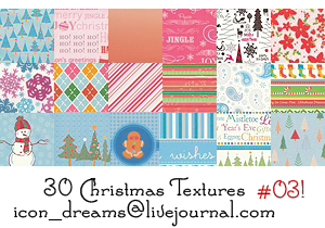 Christmas textures 03 by icon-dreams
