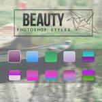 Beauty photoshop styles