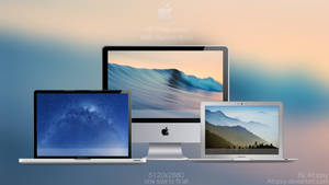 Mac wallpapers with blurred dock (Redone +3 more!)