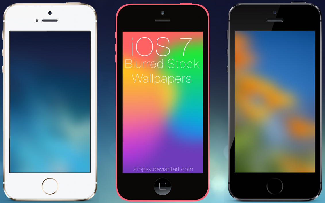 Blurred Wallpapers IPhone IPod Touch 5 5s 5c By Atopsy