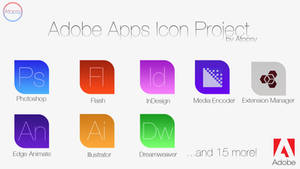 Adobe Apps Icon Project