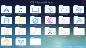 iOS 7 Style System Folders