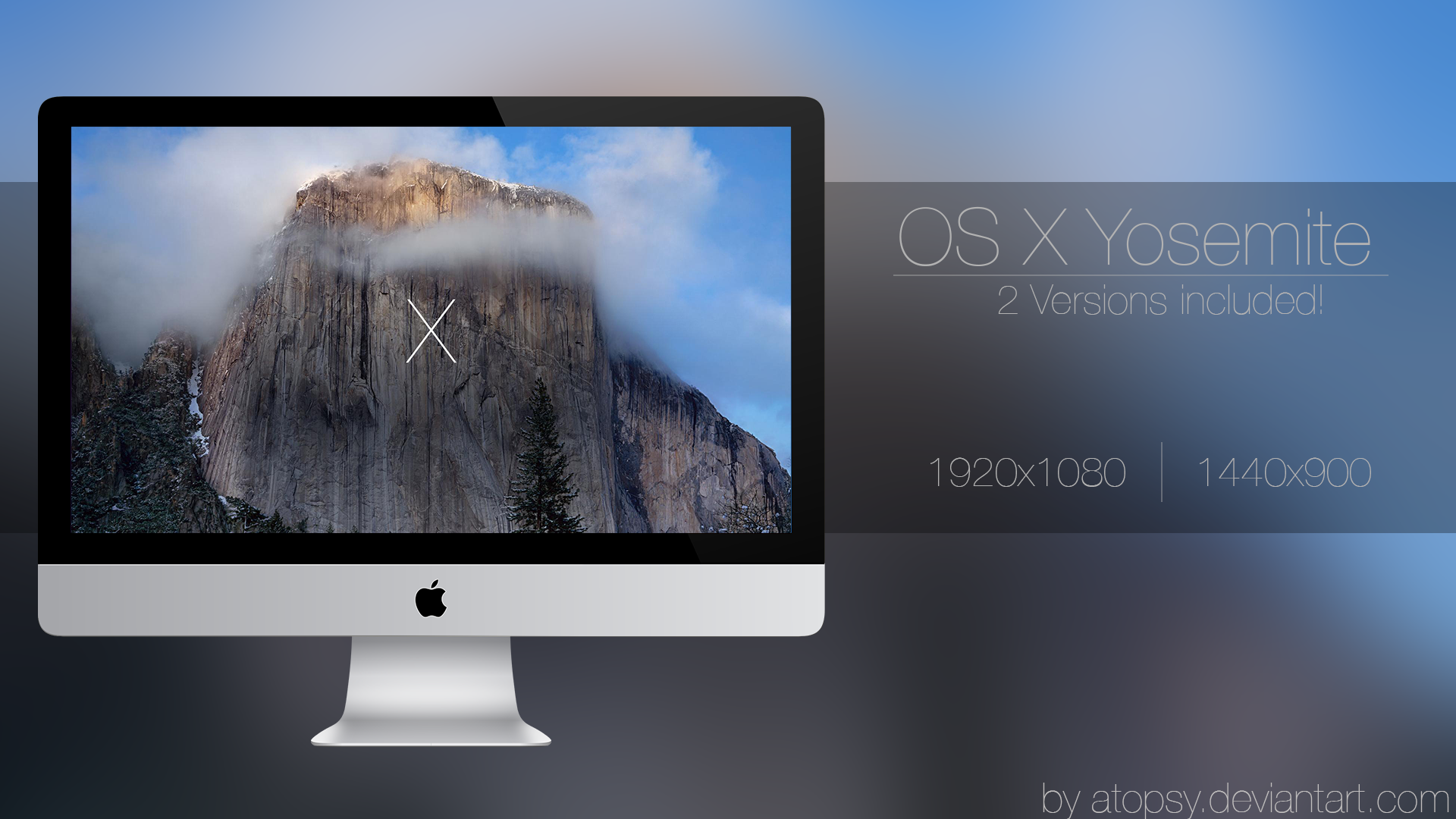 by atopsy os x yosemite wallpaper updated by atopsy