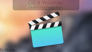 OS X Yosemite QuickTime Player Icon!