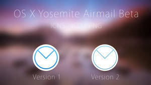 OS X Yosemite Airmail Beta Icons