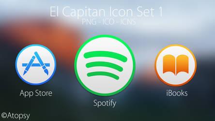 El Capitan Icon Set 1