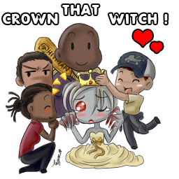 Cr0wn That Witch By Toyama Kun On Deviantart