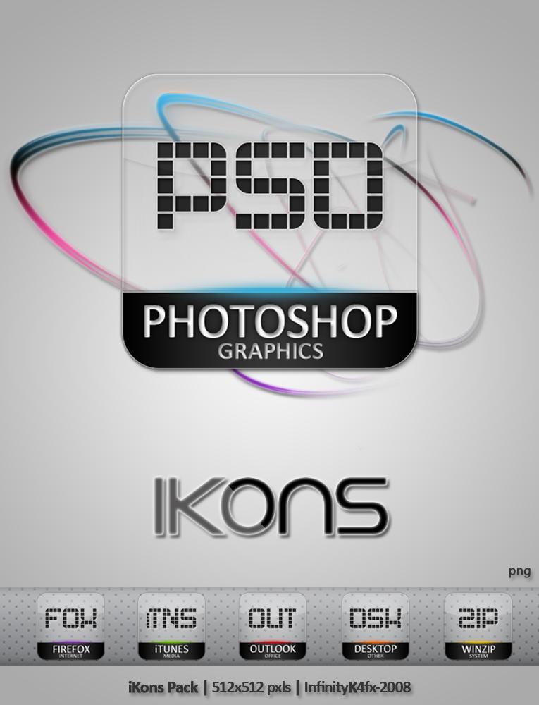 iKons Pack by InfinityK4fx