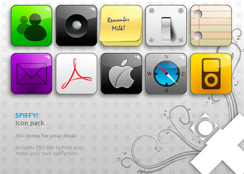 Spiffy icon pack v1.3 - Final
