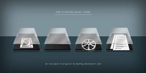 WIP - Floating Glass folders