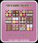 Retro Shapes Set 1 - Textures
