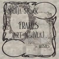 Nadija Stock ArtNouveau Frames