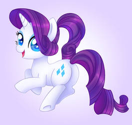 Ponytail Rarity [Animated] by iMoshie