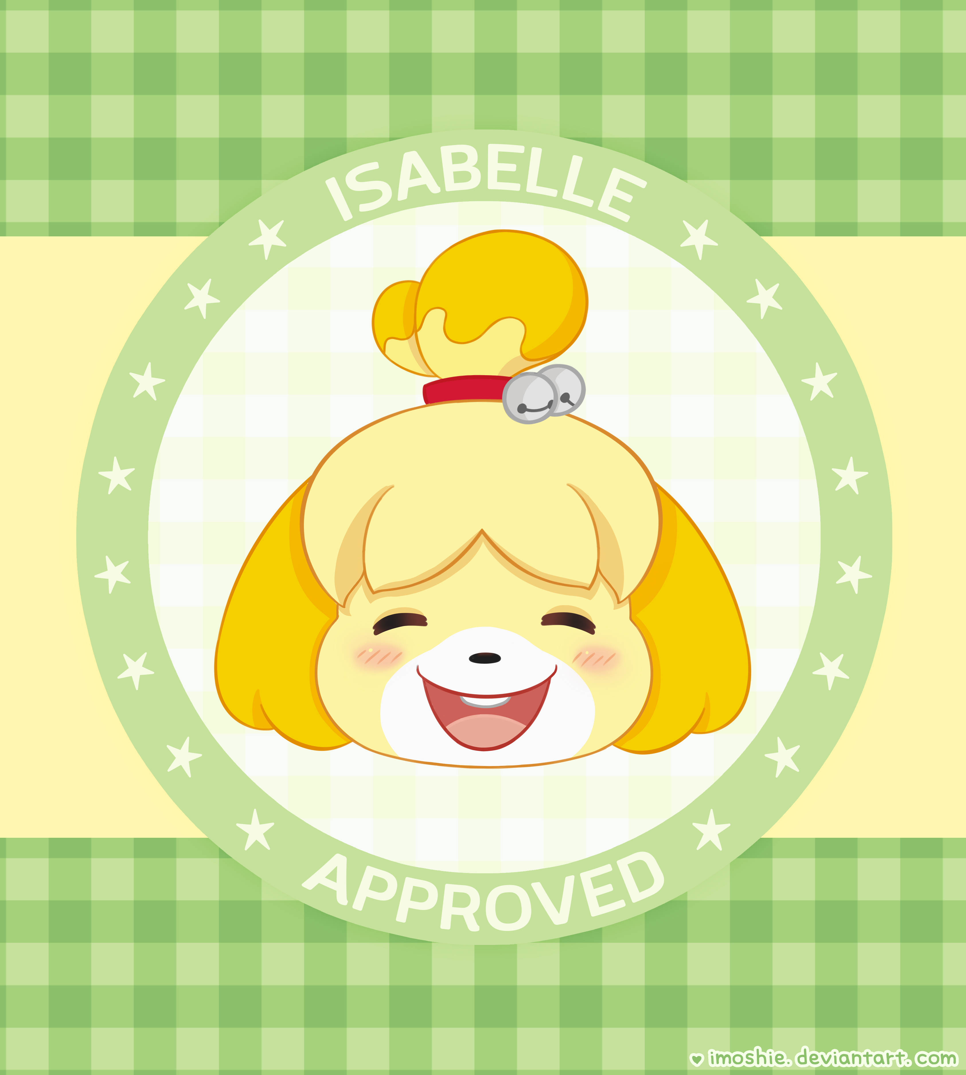 Isabelle Animal Crossing Wallpaper By Imoshie On Deviantart