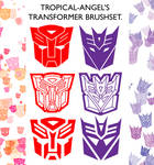 TRANSFORMERS brushes 8D