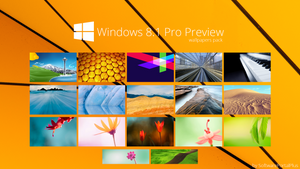 Windows 8.1 Pro Proview : Wallpapers Pack