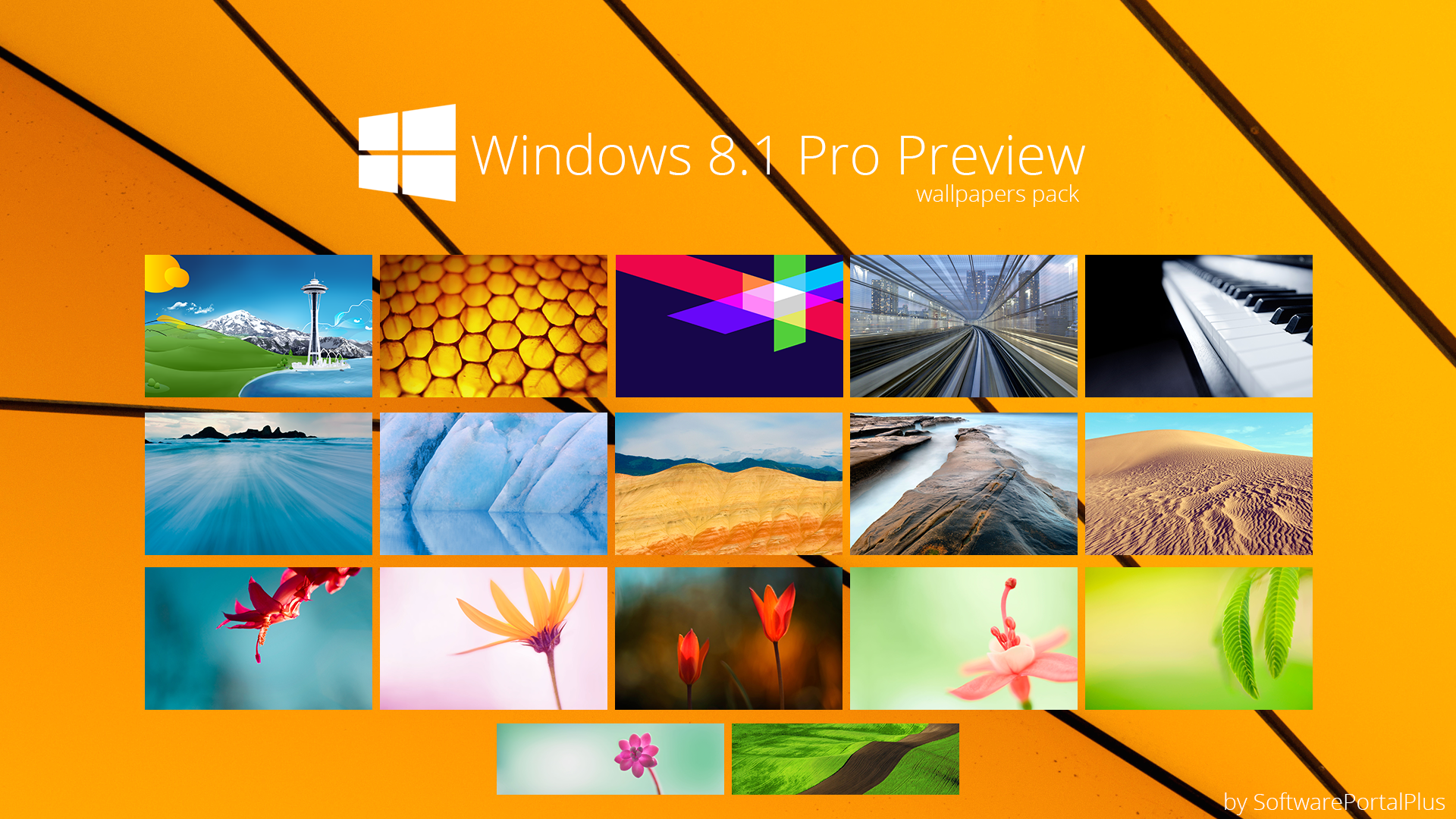 Windows 8.1 Pro Proview : Wallpapers Pack By