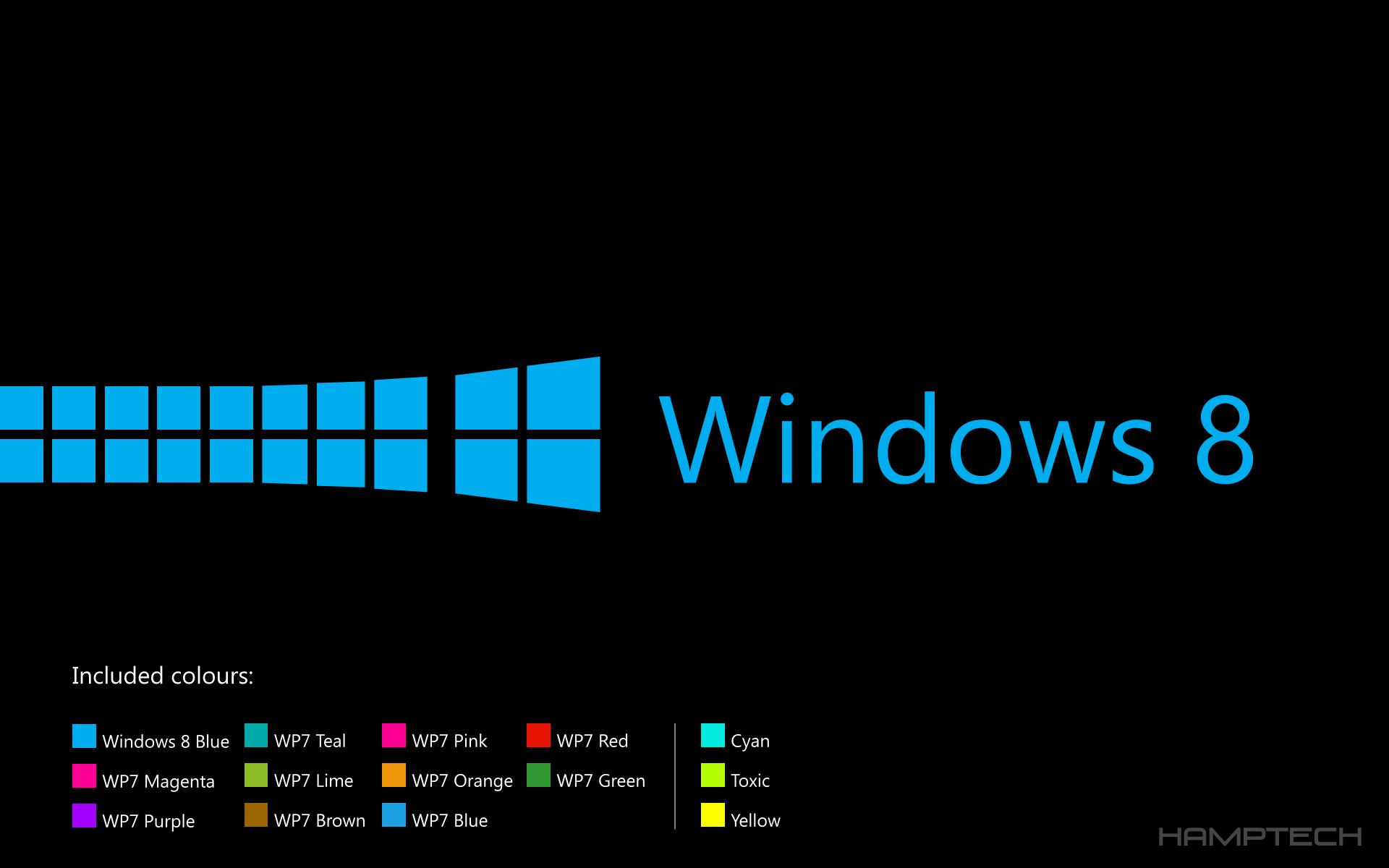 Windows 8 Lockscreen/Wallpaperpack (BlackEdition) by ...
