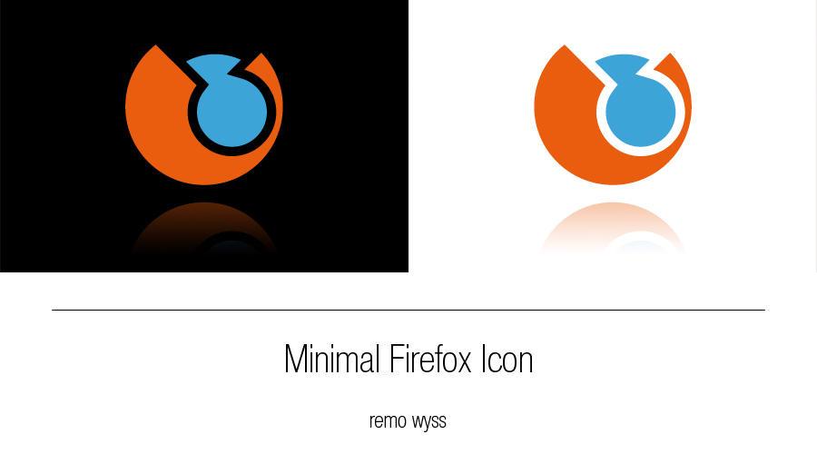 [icon] Minimal Firefox Icon by Primofenax