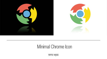 [icon] Minimal Chrome Icon