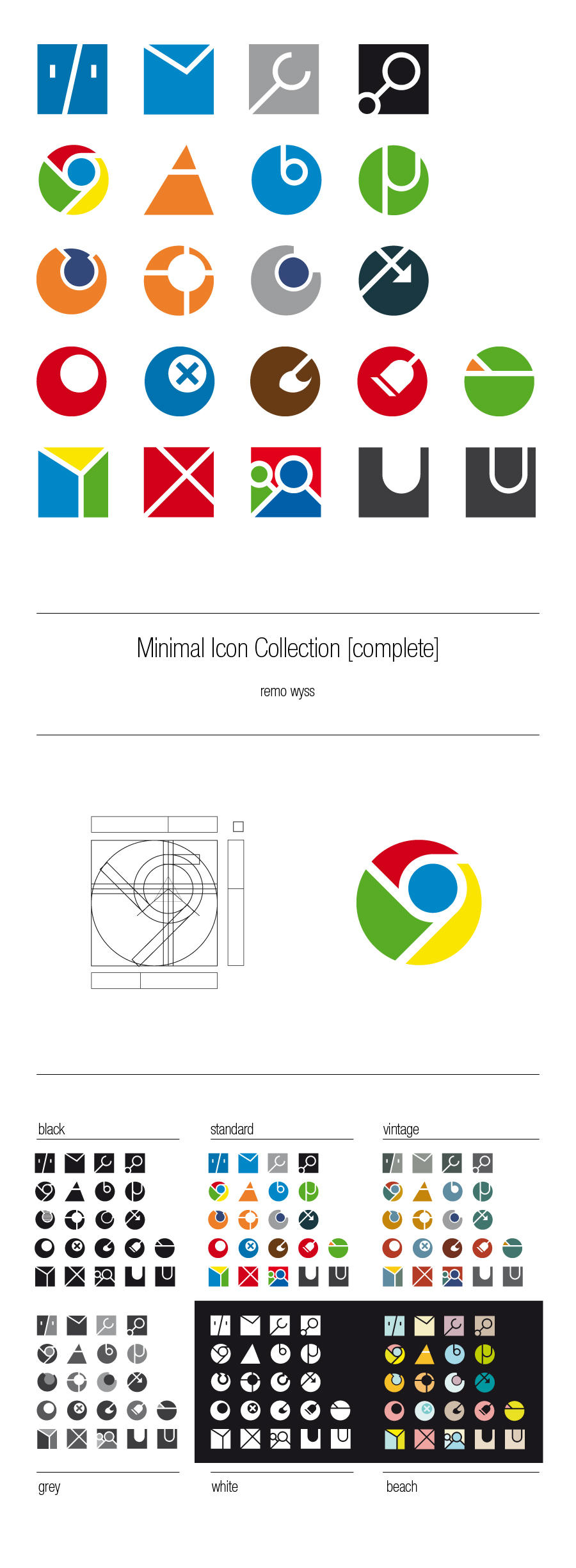 [icon set] Minimal Icon Collection [complete] by Primofenax