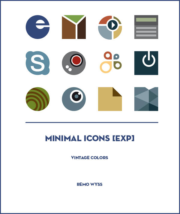 [icon set] Minimal Icon Collection [expansion] by Primofenax