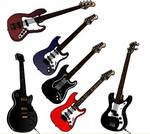 Guitars on flash