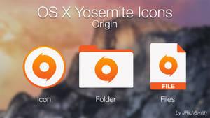 OS X Yosemite - Origin Icons