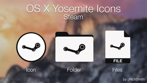 OS X Yosemite - Steam Icons