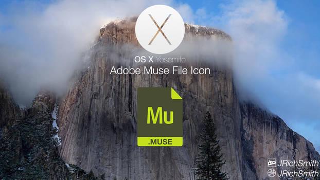 OS X Yosemite - Muse Files Icon