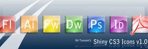 Adobe CS3 Shiny Icons by MrTsu