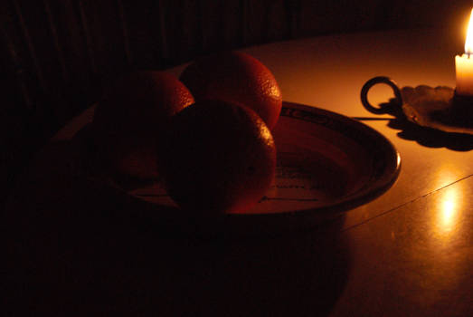 Three Oranges for a young boy