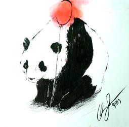Here's a Panda There's a Panda... by Bro-Pacino