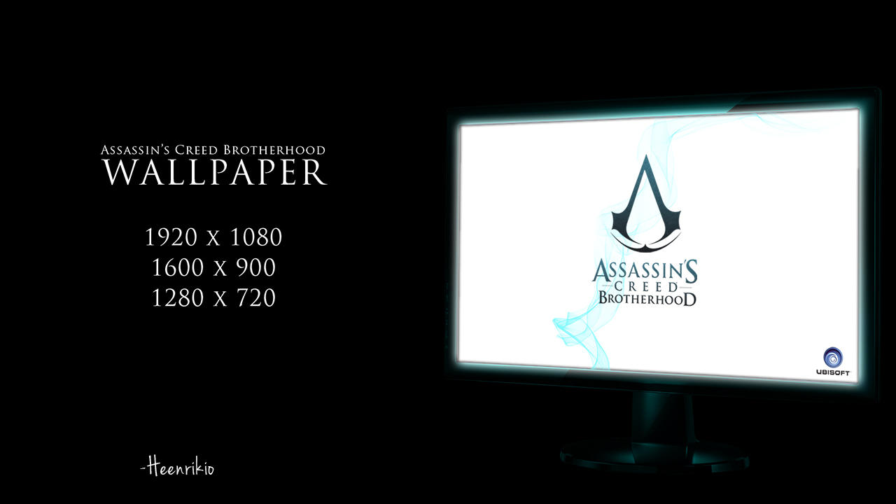 Assassin's Creed Brotherhood wallpaper by heenriko