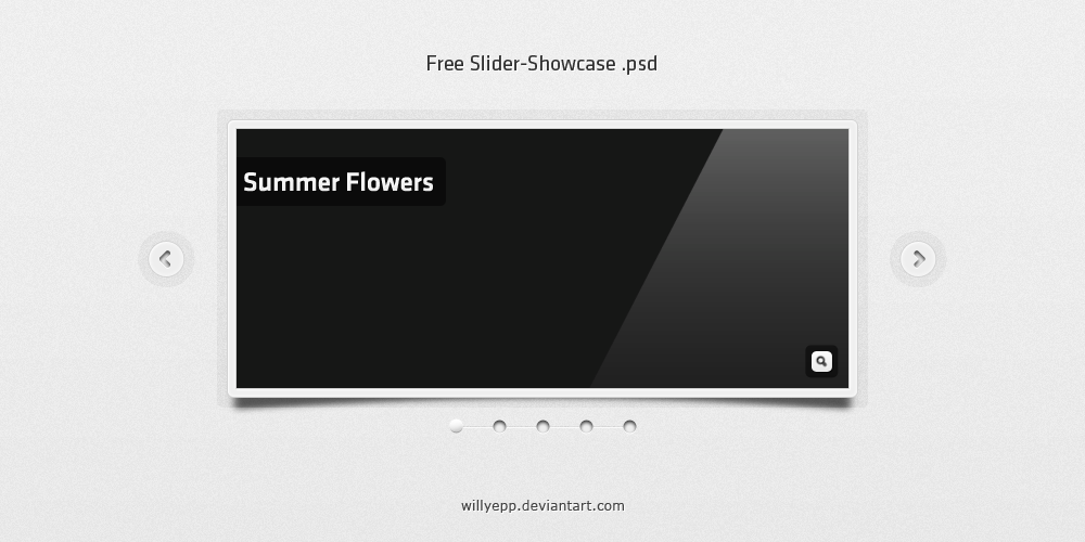 Free Slider-Showcase PSD