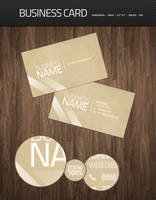 Clean Business Card PSD by WillyEpp