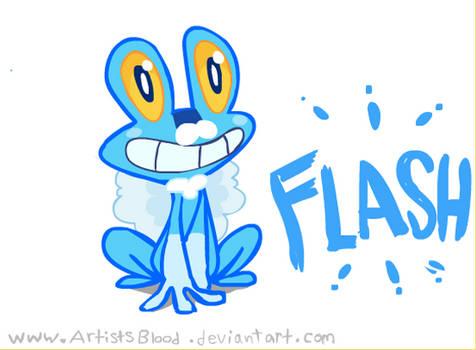 Froakie Animation