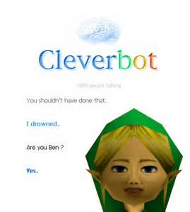 Cleverbot chat with ben drowned fan
