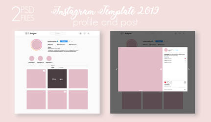 Instagram Template 2019 [UPDATED]