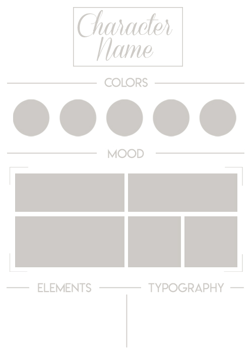 moodboard template by daeneryscrown on deviantart. Black Bedroom Furniture Sets. Home Design Ideas