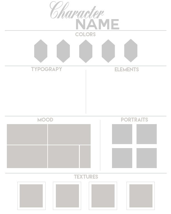 moodboard template 2 by daeneryscrown on deviantart. Black Bedroom Furniture Sets. Home Design Ideas