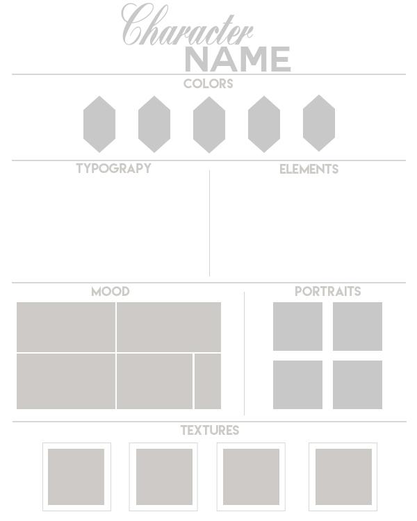 moodboard template 2 by daeneryscrown on deviantart. Black Bedroom Furniture Sets. Home Design Ideas