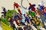 Avengers By J  Scott Campbell - Flats by ismartal