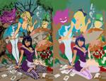 Alice In Wonderland - Flats by ismartal