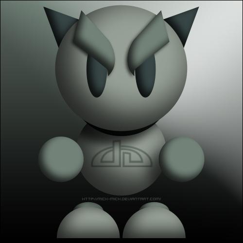 deviantART Mascot Fella .PSD