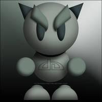 deviantART Mascot Fella .PSD by mick-mick