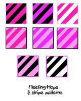 Stripe Patterns by Fleeting-Hope